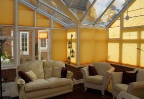 Plisētas žalūzijas trīsstūrveida logiem – 9 tips
