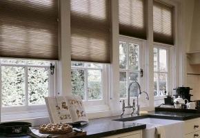 Plisētas žalūzijas standarta logiem, vadāmas ar aukliņu – 14 tips
