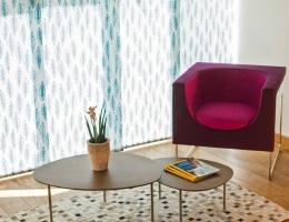 Ekskluzīva dizaina paneļu sistēma no slavenās mākslinieces Jūrates Rekevičiūtes audumu līnijas - moderns interjera akcents